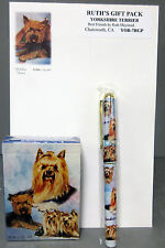 New Yorkshire Terrier Dog Playing Card Pen & Note Pad Gift Set Terriers Dogs
