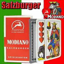 Modiano Salzburger Italian Regional Plastic Playing Cards