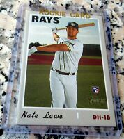NATE LOWE 2019 Topps Rookie Card RC Logo Texas Rangers HR Power $$ HOT $$