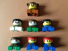 LEGO DUPLO @@  LOT 4 PERSONNAGES @@ 4 MINIFIGS FAMILY @@ FIGURES 9