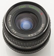 RMC Tokina 1:2.8 28mm 2.8 28 mm Objektiv - Contax / Yashica
