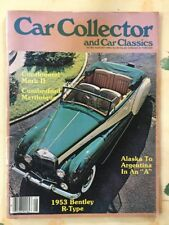 Car Collector And Car Classics August 1982 Vintage magazines 02182