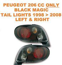 Peugeot 206 CC 2 Door ONLY Black Magic Performance Lexus Style Rear Lights