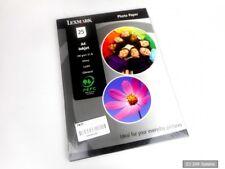 Lexmark 3048565 Photo Paper Fotopapier 25-Blatt Ikjet Glossy A4, 190g/m², NEU