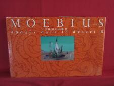 Moebius 40 Days dans le Desert B illustration art book