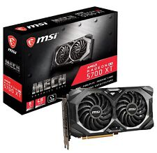 MSI Radeon RX 5700 XT MECH Graphics Card, PCI-E 4.0, 8G GDDR6, VR Ready