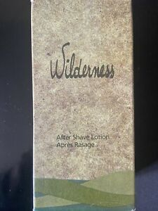 Wilderness Aftershave Lotion AVON 100ml Vintage Splash Full Discontinued