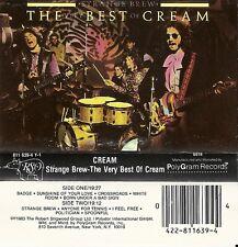 Strange Brew: The Very Best of Cream by Cream (Cassette 1983 PolyGram Records)