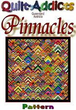 PINNACLES - Patchwork Quilt Pattern by Quilt-Addicts