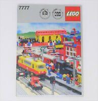 Libro Lego 7777 train treni lego idee per costuruzioni di diversi modelli book