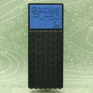 BOSS FV-50L Foot Volume Pedal Low impedance Guitar Bass Keyboard S7E0644