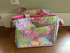Lilly Pulitzer Insulated Rectangular Cooler Bag Tote Pink Paisley Large Tote