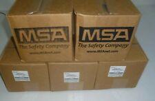 Five New Oem Msa 10046570 Cbrn Papr Cap 1 Millennium Gas Mask Filter Exp 1012