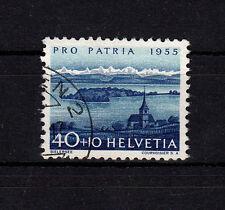 Schweiz aus  Pro Patria 1955, Mich.-Nr. 617  gestempelt, einwandfrei, siehe Bild