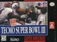 Tecmo Super Bowl III Final Ed. - Nintendo SNES Game Authentic