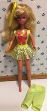 1990 Hawaiian Fun Skipper Barbie Doll with Hula Skirt by Mattel 5942