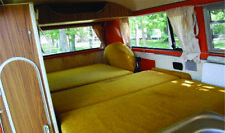 Westfalia Continental Mustard Yellow Fabric Cover 7pc Set for VW T2 Bay 73 C9646