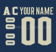 Columbus Blue Jackets Customized Number Kit for 2018-Present 3rd Jersey
