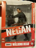 "The Walking Dead Negan Lucille Merciless Edition 10"" Action Figure Mcfarlane New"
