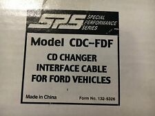 NEW - Audiovox CDC-FDF - CD Changer Interface Cable for FORD vehicles