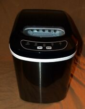 Magic Chef Hmim27Bst 27lb Portable Countertop Ice Maker – Black Stainless