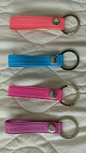 Marc Jacobs Keychain Keychain PU Faux Leather Hot Bright  Neon Colors