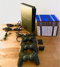 Playstation 2 PS2 Konsole Inkl. 14 Spielen 3 Controller Sammlung Fat Lady