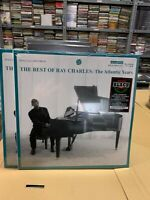 Ray Charles 2 LP The Best Of The Atlantic Years Scellé White Vinyle