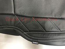 2017 2018 Ford F 250 Xlt Super Crew Katzkin Leather Seat Covers Limited Black