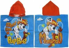 Boys Girls Kids Official Novelty Character Hooded Towel Poncho PAW PATROL PONCHO