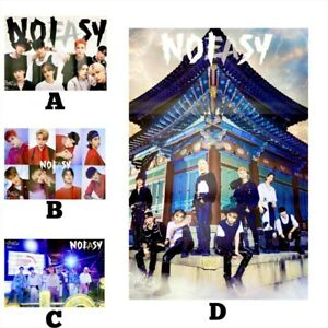 [SELECT A/B/C/D] STRAY KIDS NOEASY OFFICIAL UNFOLDED POSTER *READ DESCRIPTIONS*