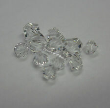 11 Clear Swarovski Crystal Beads 4mm & 6mm Bead For Beading & Jewellery TAR216
