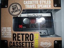 RETRO CASSETTE STYLE MP3 TRAVEL SPEAKER FOR SMART PHONES