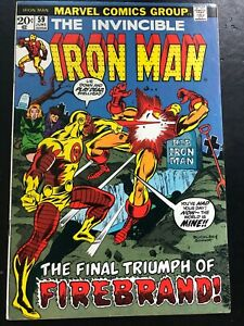 Iron Man #59 FN+ (6.5)