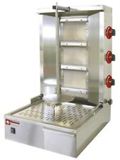 Dönergrill Gyrosgrill Flüssig-/Erdgas 60cm Spiess für 25-35 kg Fleisch Gastlando