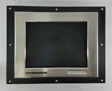 CyberResearch CyRAQ 15 Inch LCD Monitor UB Ultra Bright Water Resistant DVI VGA