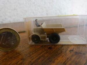 beau jouet miniature 1/87 Wiking Engin de Chantier  Boite