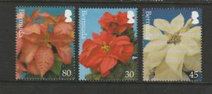 Bermuda 2003 Xmas, Poinsettias ( Flowers) UM/MNH SG 925/7