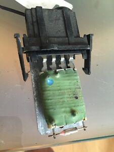 Heater Blower Motor Speed Resistor, Seat Ibiza 1993-99 #24455