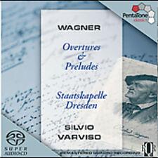 Silvio Varviso, R. Wagner - Overtures & Preludes [New SACD] Hybrid SACD