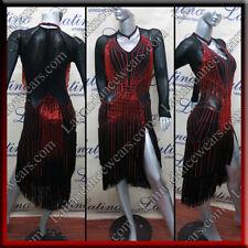 4f61f3c11f8a Preciosa Stone Custom Designed Latin Rhythm Salsa Competition Dance Dress  Lk43