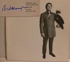 Mel Ramos Katalog original signed signiert autograph Signatur Autogramm