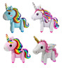 3D Unicorn Standing Full Body Foil Birthday Party Girl Decoration Balloon
