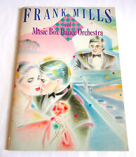 FRANK MILLS JAPAN TOUR 1982 CONCERT TOUR PROGRAM BOOK w/Sheet music