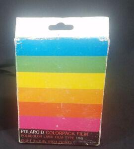Vintage Polaroid Film Pack