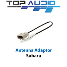 fit Subaru Antenna Adapter Aerial Adaptor Male DIN plug lead cable connector