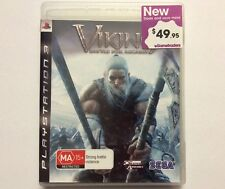 VIKING BATTLE FOR ASGARD, the CREATIVE ASSEMBLY, SEGA - Sony PlayStation 3 - PAL