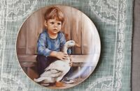 "Leo Jansen Fine China Plate ""A Child's World"" Lilited Edition 1984 ""Freddie"""