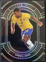 2020-21 Panini Obsidian Soccer PITCH BLACK Gabriel Jesus Brazil 91/99 #3
