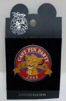 SIMBA WDW Cast Exclusive Cast Pin Party 2005 LIMITED EDITION 1/1500!! Disney Pin